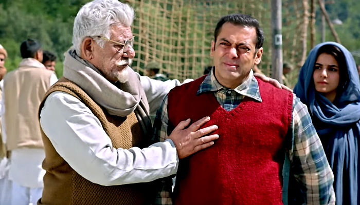 Salman Khan and Om Puri in a still from Tubelight