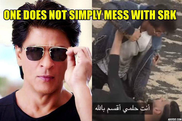 Shah Rukh loses his cool after being pranked