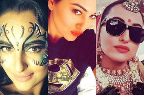 Sonakshi Sinha. Birthday Special, Selfies