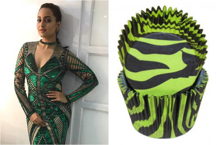 When Sonakshi Sinha decides to look like a matcha cupcake