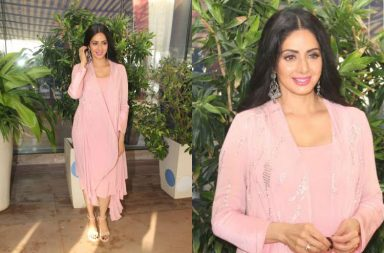 Sridevi at mom promotion