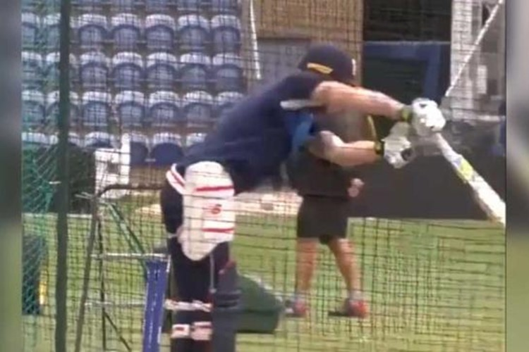 ICC Champions Trophy 2017: Ben Stokes gets a nasty blow to the groin, punishes Moeen Ali in the nets after [Watch Video]