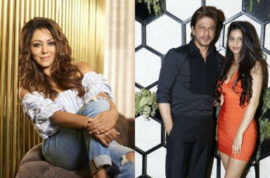 Suhana Khan dress Gauri Khan Comment