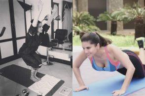 Sunny Leone Yoga