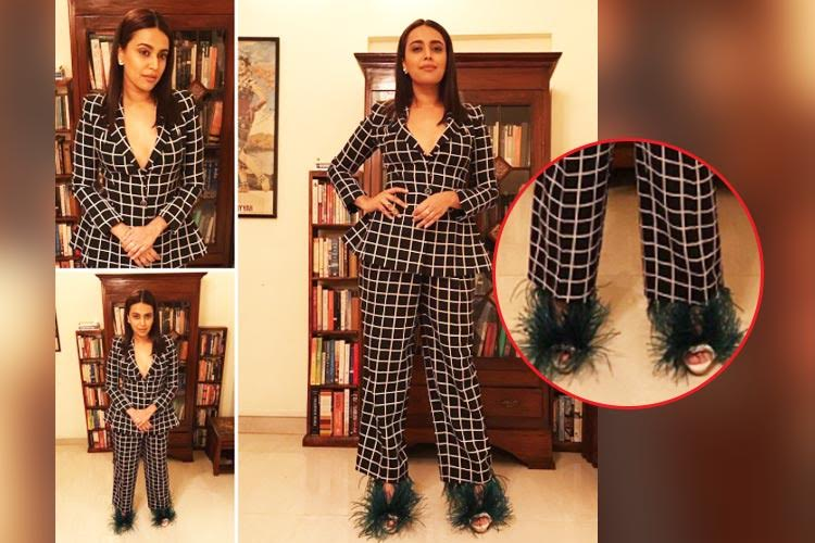 Swara Bhaskar at GQ Awards: What's with those shoes? [See photos]