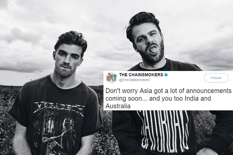 The Chainsmokers, The Chainsmokers Twitter