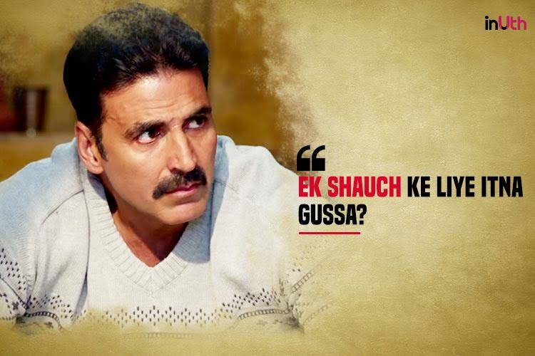 Akshay Kumar, Toilet Ek Prem Katha dialogues
