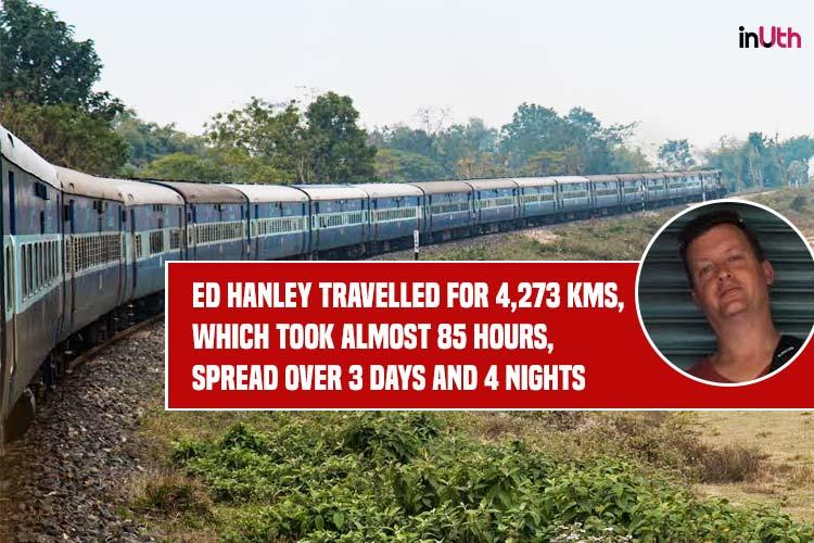 Ed Hanley. Ed Hanley Photography, Ed Hanley music, Ed Hanley Photographer, Ed Hanley Project, Longest train ride in India, Dibrugarh Kanyakumari Vivek Express, Dibrugarh, Assam, Kanyakumari