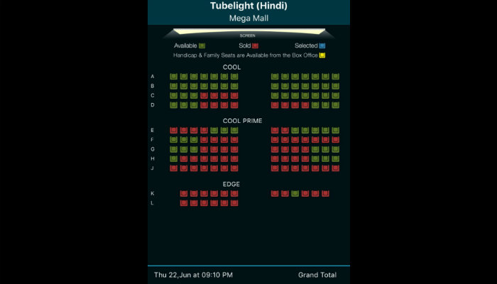 Tubelight advance booking in Sharjah, UAE