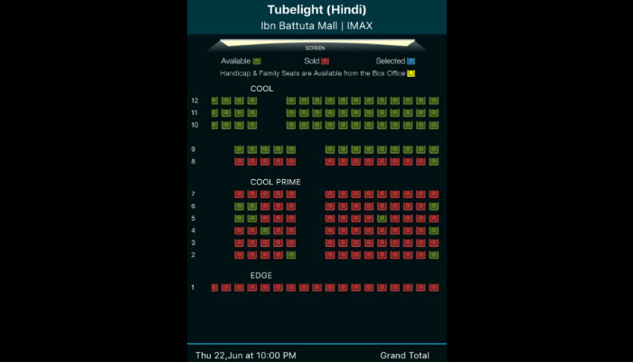 Tubelight advance booking in Dubai, UAE