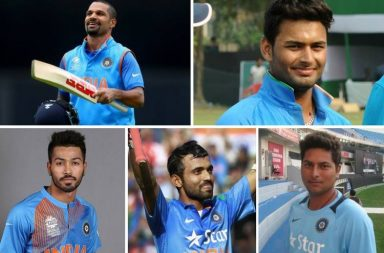 Team India top 5 predicted performers