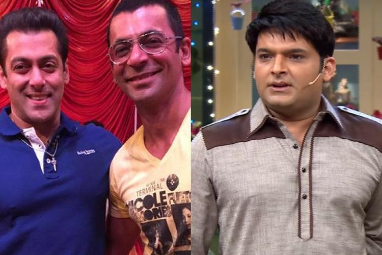 Salman Khan, Sunil Grover, Kapil Sharma