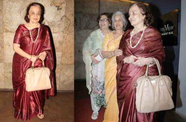 Wahida Rehman, Helen, Asha Parekh at the Tubelight special screening