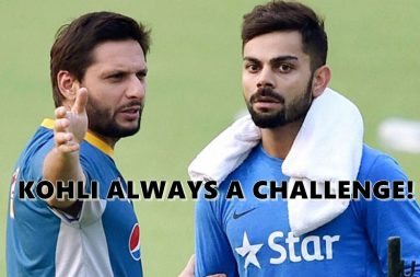 Virat Kohli, Shahid Afridi, India vs Pakistan 2017. ICC Champions Trophy 2017