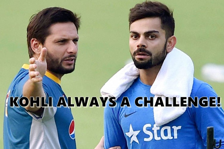 ICC Champions Trophy 2017: Shahid Afridi turns realist, backs Virat Kohli & Co. ahead of India vs Pakistan clash!