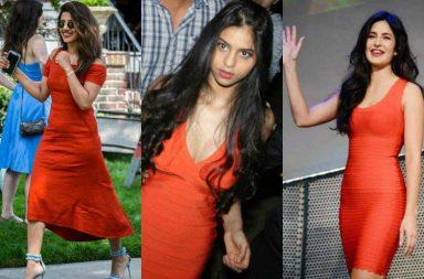 Priyanka Chopra, Suhana Khan, Katrna Kaif