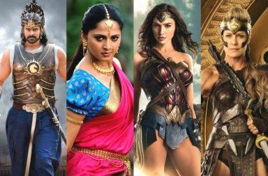 wonder woman, baahubali-2