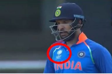 Yuvraj Singh, wrong jersey, India vs West Indies