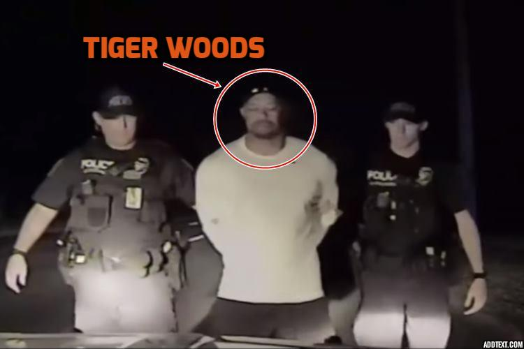 watch drunk golfer tiger woods stumbles appears confused in