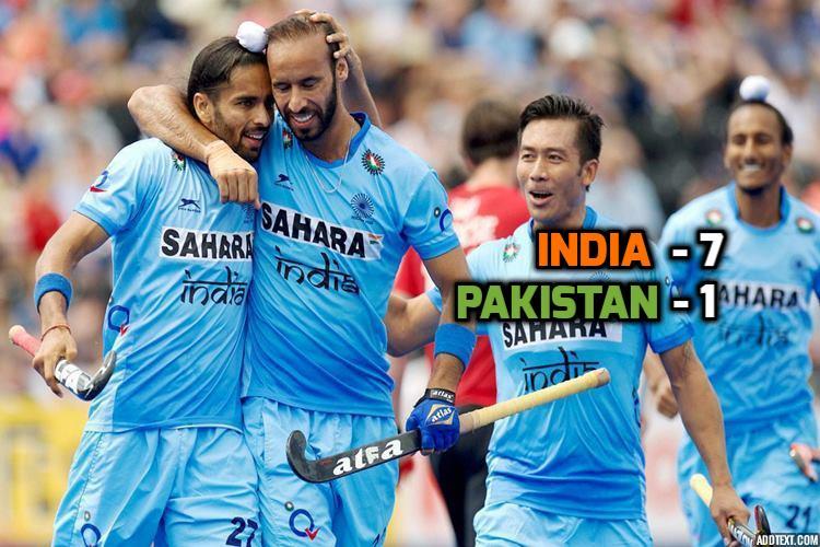 India vs Pakistan hockey