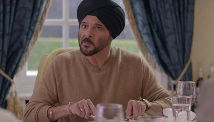 Anil Kapoor in a still from Mubarakan