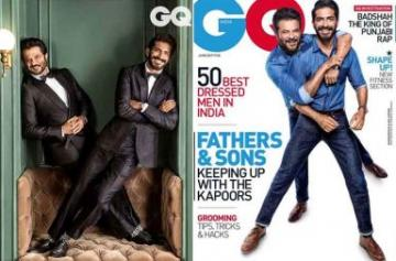 Anil and Harsh Kapoor gq magazine photos