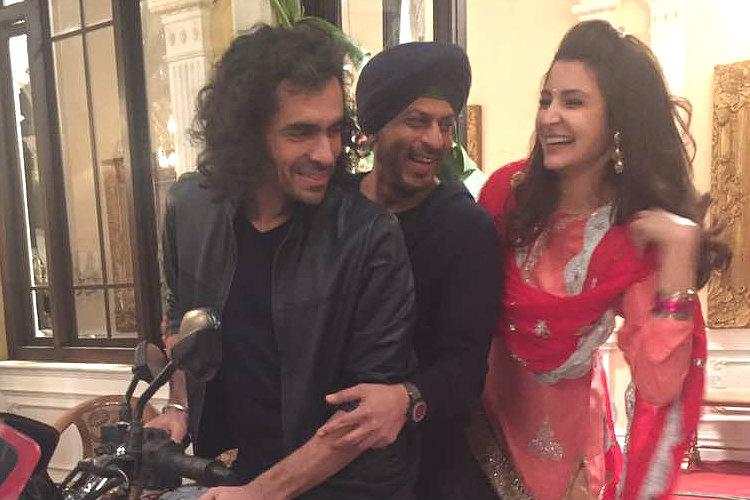 Anushka Sharma, Shah Rukh Khan and Imtiaz Ali on sets of Jab Harry Met Sejal
