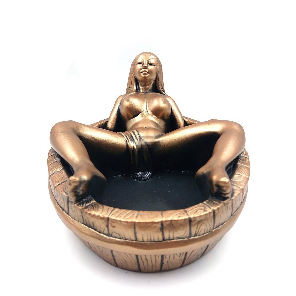 amazon ashtray, objectification of woman