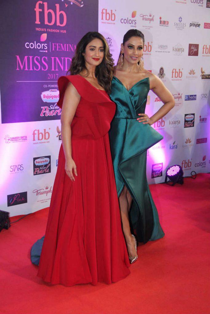 Bipasha Basu, Ileana D'Cruz at the 54th Femina Miss India World 2017