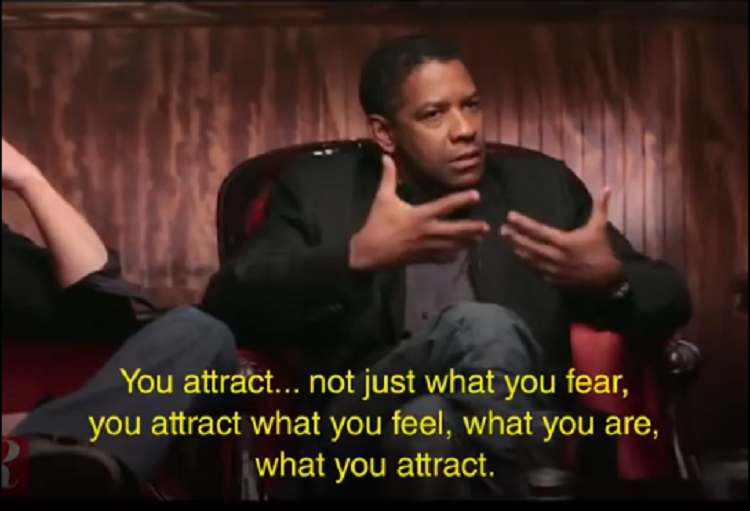 Denzel Washington, Lady Gaga, Laws of Attraction