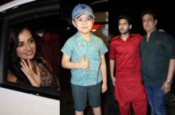 Celebs spotted at Salman Khan's Eid party