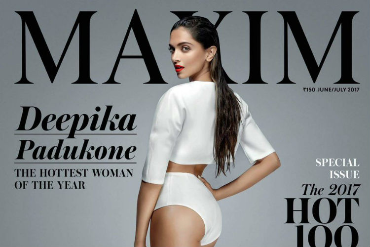 Deepika Padukone made it to the list of 2017 MAXIM Hot 100 list