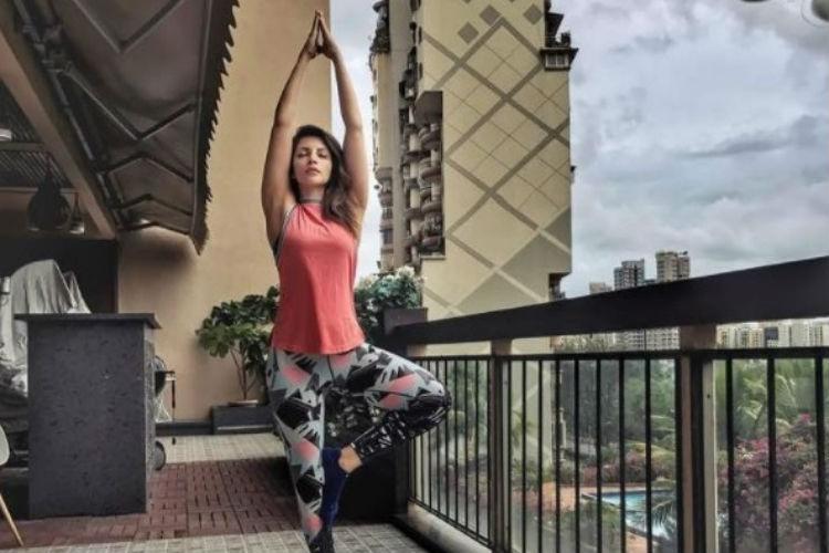 Shama Sikander fitness regime