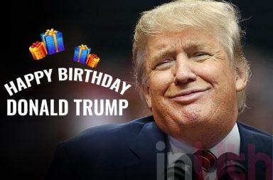 Donald Trump birthday