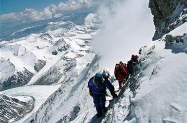 Indian Army personnel successfully climb Mt Everest
