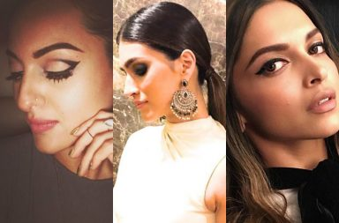 Eye liner bollywood celebs