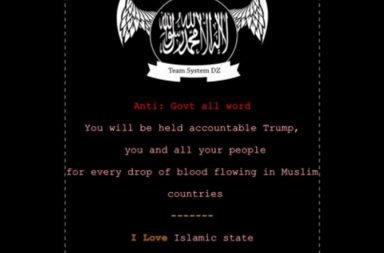 US Website hacked
