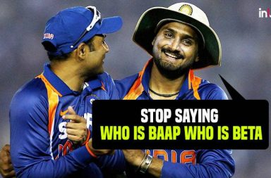 Harbhajan Singh indirectly takes a dig at Virender Sehwag for his 'Baap Beta' statement