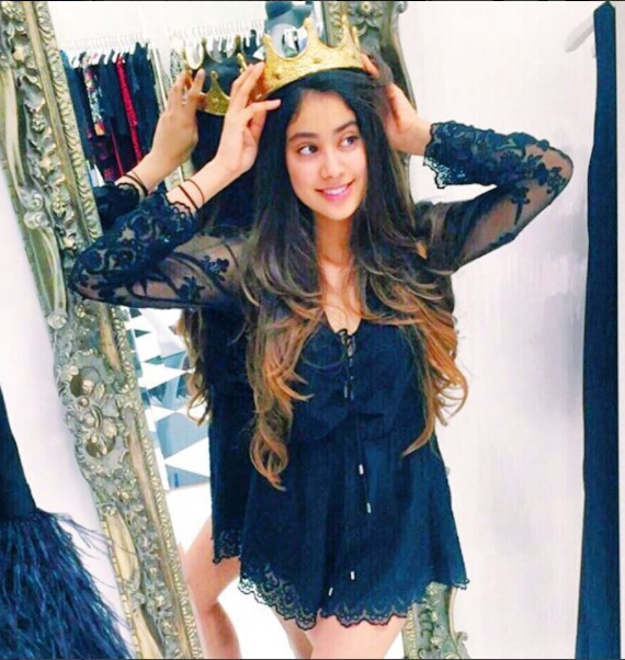 Jhanvi Kapoor (Courtesy: Instagram)