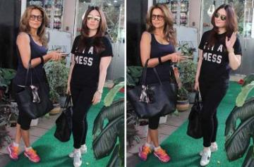 Kareena Kapoor Khan and Amrita Arora photo