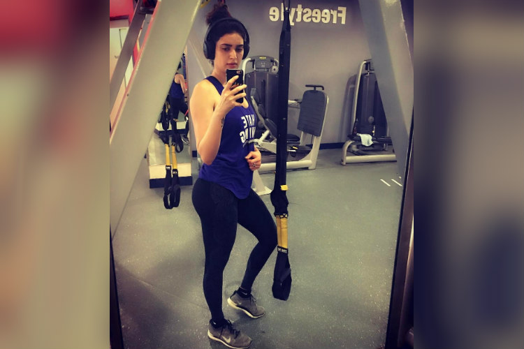 Karishma Tanna workout regime