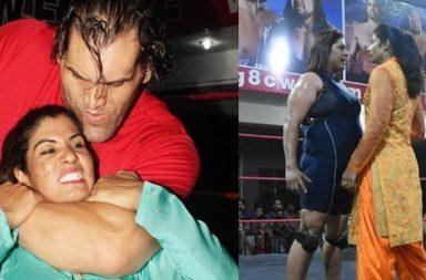 WWE, Kavita Devi, Khali