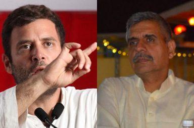 Rahul Raps Sandeep Diskhit