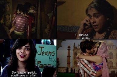 Stills from Lipstick Under My Burkha