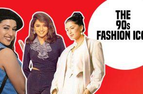 Madhuri Dixit -- The 90s fashion icon