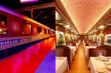 Luxury travel train India