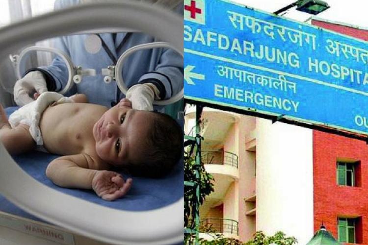 Medical negligence by Safdarjung hospital