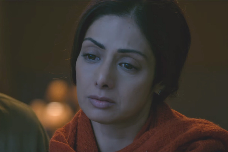 Mom trailer shows Sridevi in her peak form again