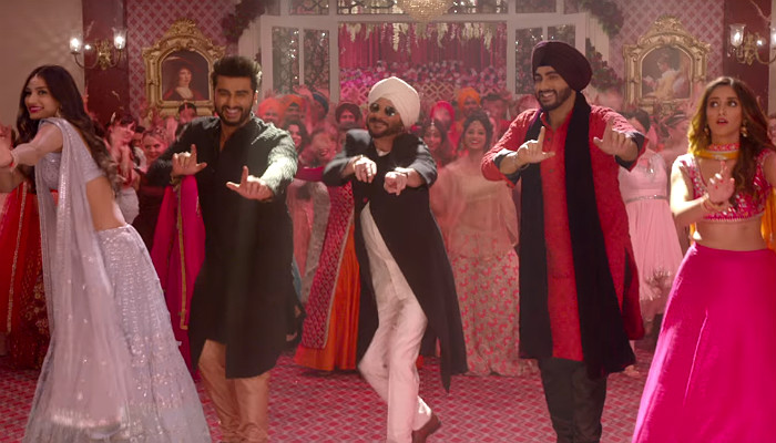 A still from Mubarakan trailer