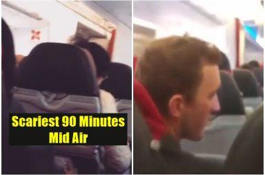 Air Asia plane shakes like washing machine